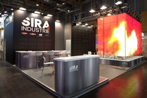 booth build in Euroguss for Emilpress-Sira Groups